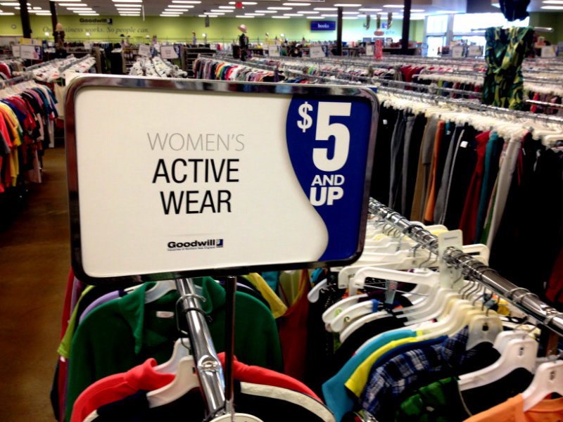activewear from Goodwill main