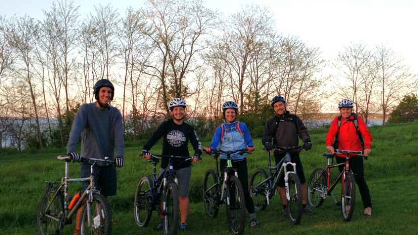 Learn to mountain bike or improve your skills with free for Portland maine bike trails