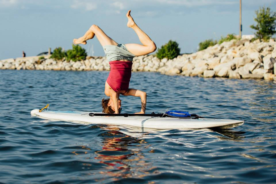Photo courtesy Maine Yoga Adventures