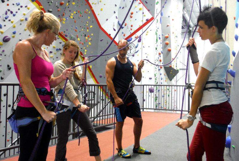 An Intro to Climbing class at Salt Pump Climbing Co. Shannon Bryan photo