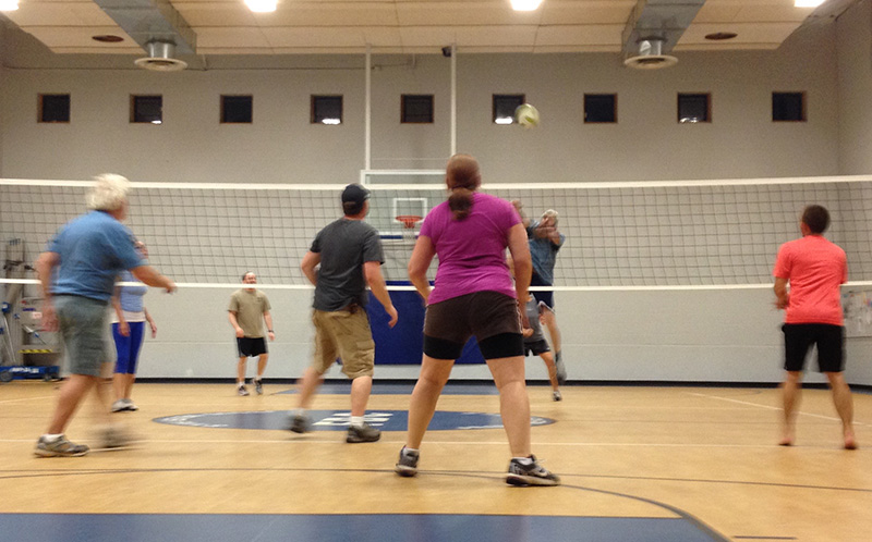 Volleyball action! Shannon Bryan photo