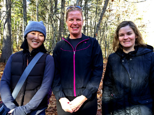 A few of the hikers from Sunday's hike. Shannon Bryan photo
