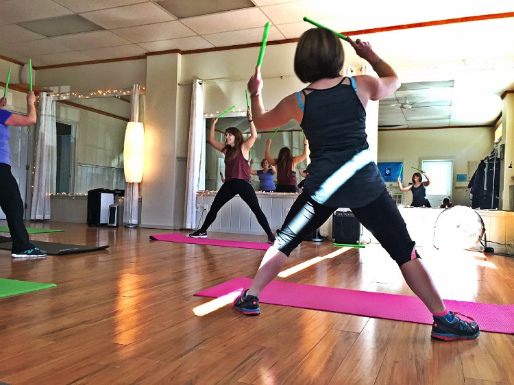 It\'s a fitness class with drum sticks: POUND classes have come to ...