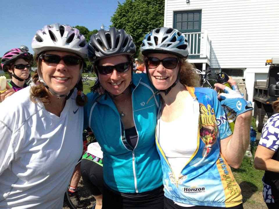 Riders at the Maine Women's Ride. Shannon Bryan photo
