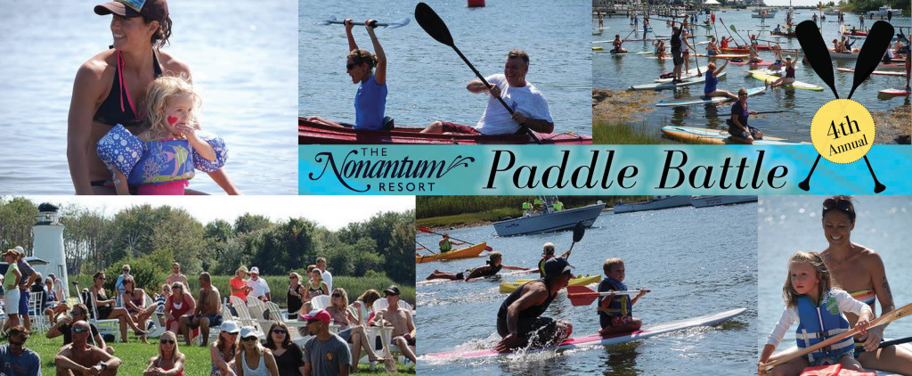 Paddle Battle collage