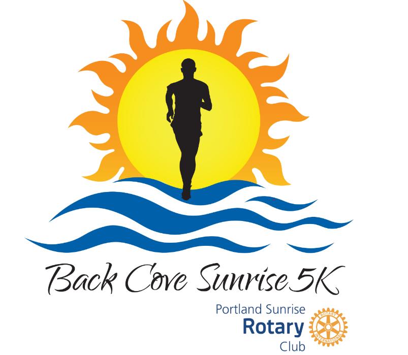 Back Cove Sunrise 5K graphic