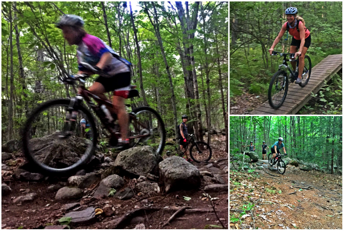 More riding and obstacle conquering! Shannon Bryan photos (left and top right). Emily Helliesen photo (bottom right)