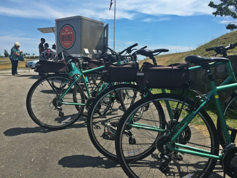 Portland encyclepedia bike rentals resource hub on for Bike rides in maine
