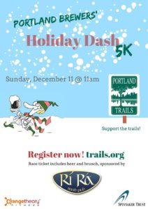 Portland Brewers' Holiday Dash 5K @ Ri Ra The Irish Pub & Rest   Portland   Maine   United States
