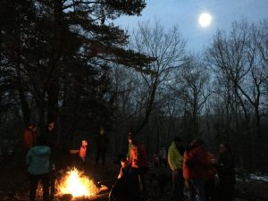 Pisgah Hill Full Moon Trek @ Pisgah Hill Preserve,  Dougherty Road trailhead, Pownal | Pownal | Vermont | United States