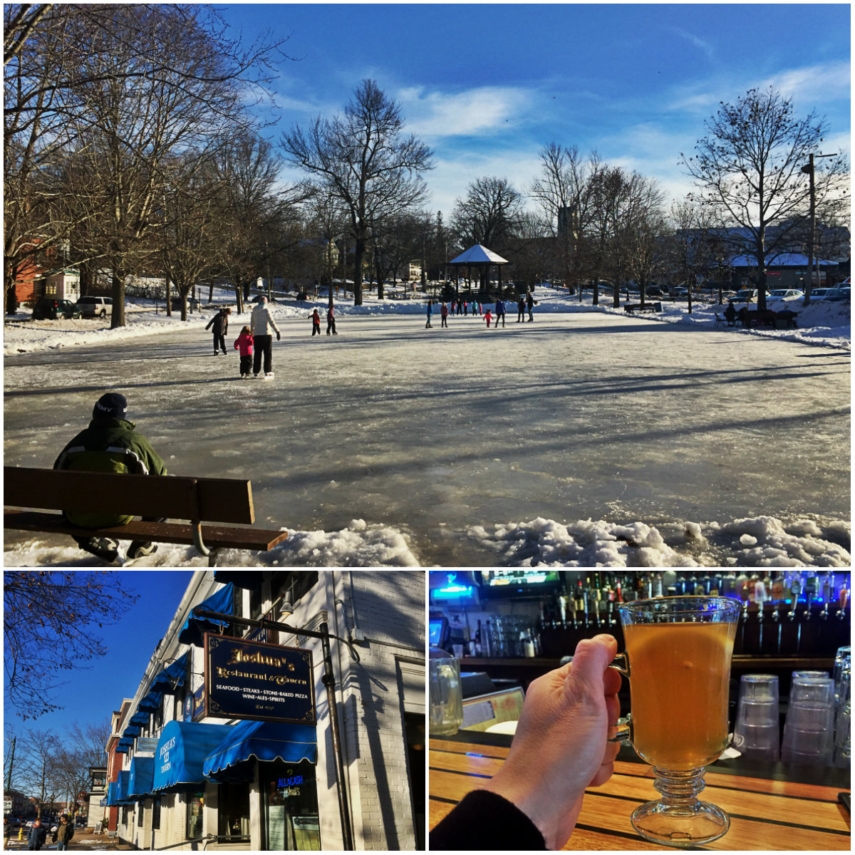 Rinks & Drinks: Great Places To Ice Skate (with Hot