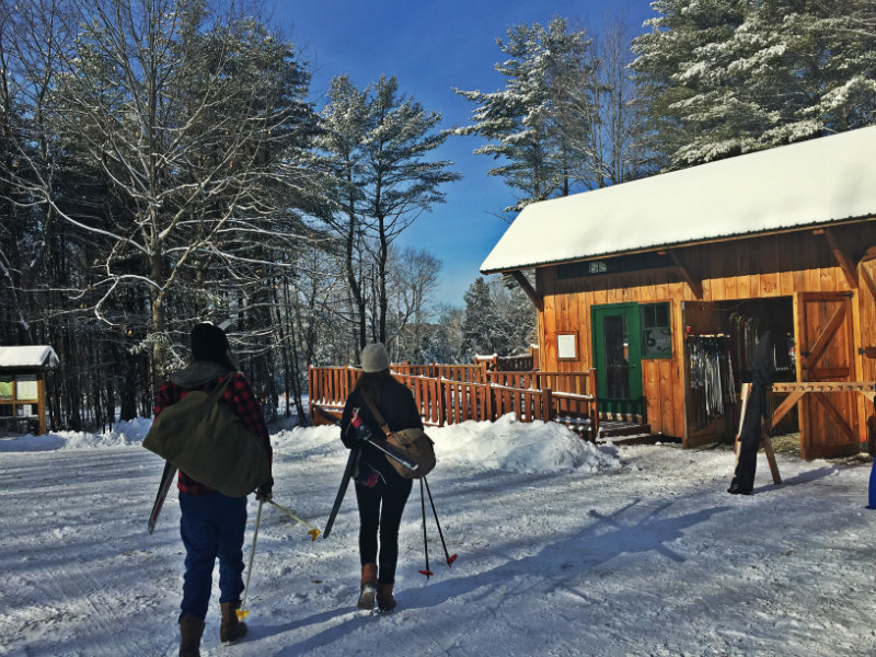 Ski & snowshoe (borrow gear for free) at Roberts Farm ...