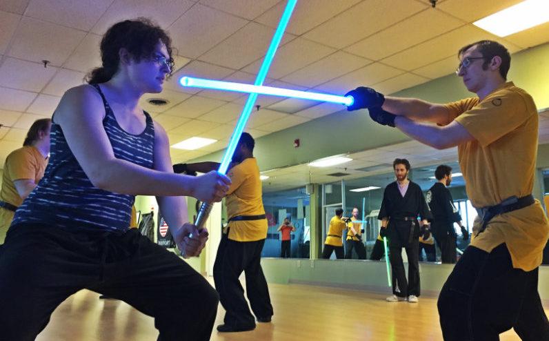 LudoSport Portland Maine lightsaber combat
