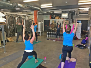 Beer + Yoga @ Foulmouthed Brewing | South Portland | Maine | United States