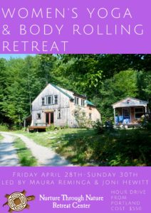 Women's Yoga & Yamuna Body Rolling Retreat @ Nurture Through Nature | Denmark | Maine | United States