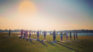 Morning Flow Yoga @ Bug Light Park | South Portland | Maine | United States