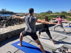 Yoga on the Nubble @ Viewpoint Hotel   York   Maine   United States