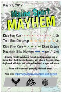 Maine Sport Mayhem @ Maine Sport Outfitters | Rockport | Maine | United States
