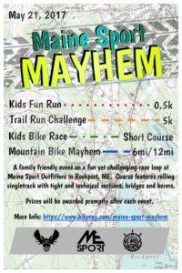 Maine Sport Mayhem @ Maine Sport Outfitters | Rockport | Maine | United States