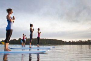Beginners SUP Yoga Worshop @ Koan Wellness | York | Maine | United States