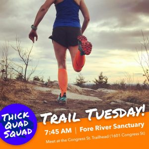 Trail Tuesday with Thick Quad Squad @ locations vary each week  | Portland | Maine | United States