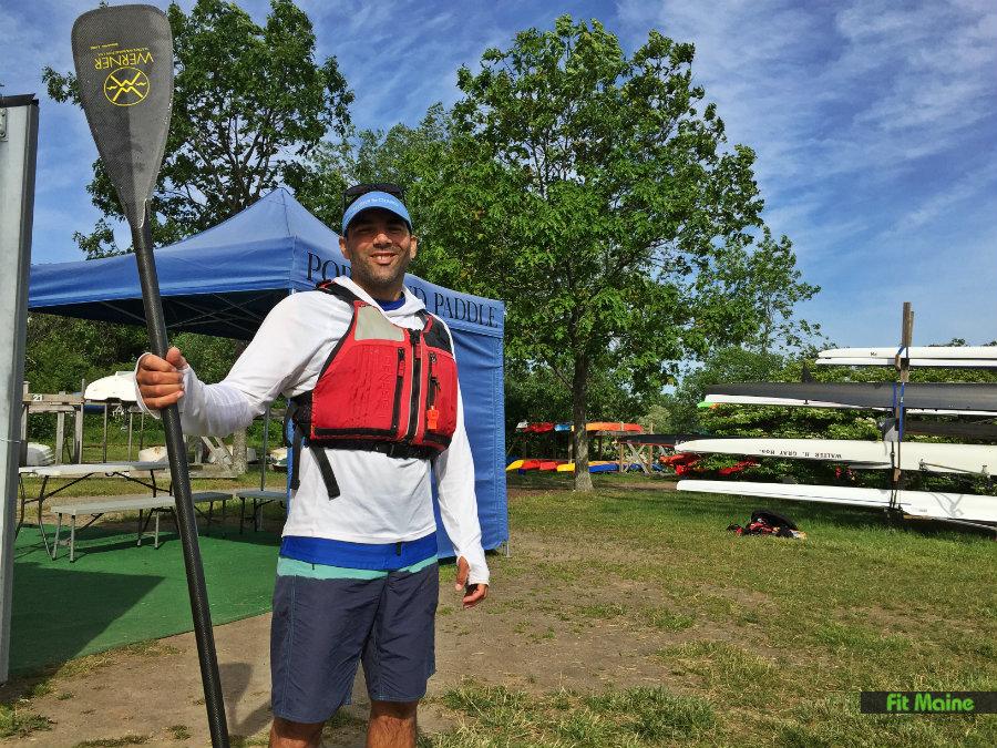 Portland Paddle SUP instructor Matt Palmariello