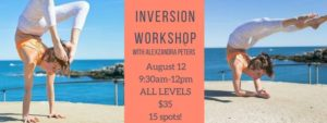 Inversion Workshop @ Gorham Yoga Company | Gorham | Maine | United States