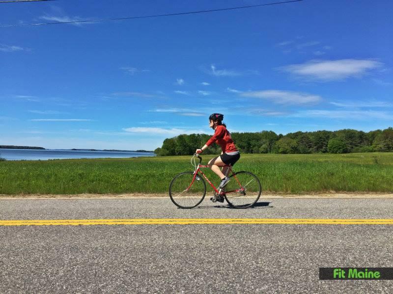 Maine bike ride
