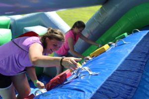 The Great Inflatable Race @ Seeds of Independence | Brunswick | Maine | United States