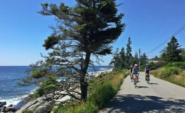 Bike Ride Maine Coast