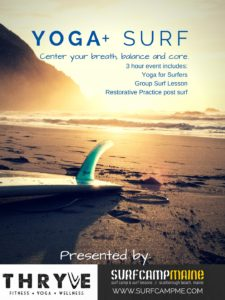 Yoga + Surfing class @ Scarborough Beach | Scarborough | Maine | United States