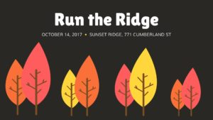 Run the Ridge Trail Race @ Sunset Ridge | Westbrook | Maine | United States
