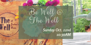 Be Well at The Well Bend & Brunch with Ali Peters @ The Well | Cape Elizabeth | Maine | United States