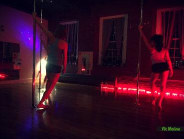 Pole dancing maine