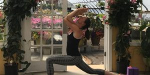 Sunset Yoga Flow in the Greenhouse @ pin 	 Hide Map Highland Avenue Greenhouse and Farm Market | Scarborough | Maine | United States