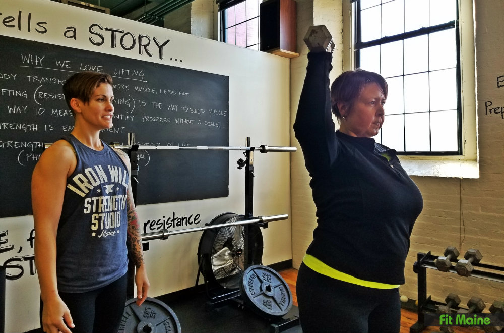 Lift Like a Boss workshop at Iron Will Strength in Westbrook.