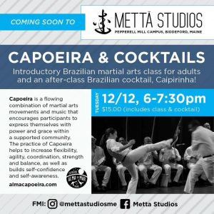 Intro to Capoeira Workshop! @ Metta Studios | Ann Arbor | Michigan | United States