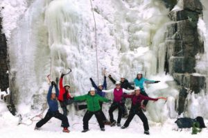 Revised - Ice Climb, Snowshoe & Soak Adventure @ Acadia Mountain Guides Climbing School  | Bar Harbor | Maine | United States