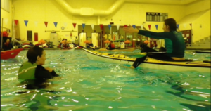 Winter Pool Kayak Session @ Riverton Pool | Portland | Maine | United States