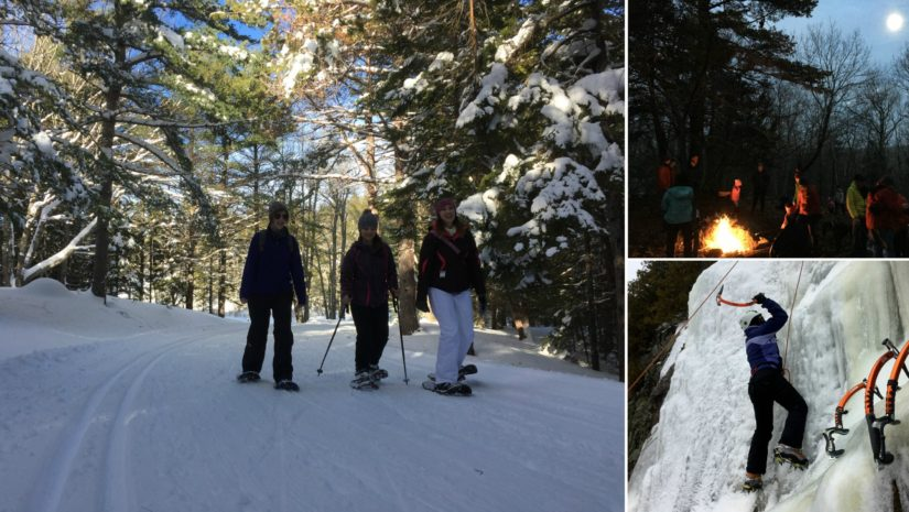 active things to do in maine this winter