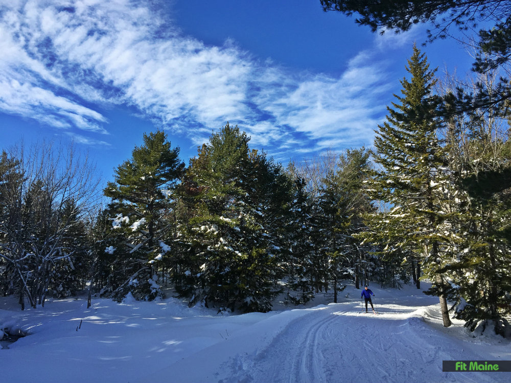 cross-country skiing acadia national park