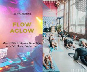 Be Well Flow Aglow at Brian Boru with Kat Cynewski & Pub House Productions @ Brian Boru | Portland | Maine | United States