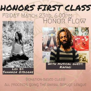 Honor Yoga Flow w/live music @ Honor Movement Studio | Portland | Maine | United States