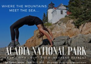 CAMP HIKE SUP YOGA Acadia NP Weekend Retreat @ Acadia National Park | Maine | United States