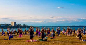 Summer Solstice Donation Yoga at Bug Light! @ Bug Light Park | South Portland | Maine | United States