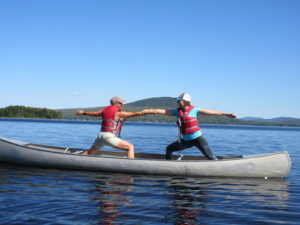 Allagash River Yoga & Canoeing @ Allagash River Wilderness Waterway