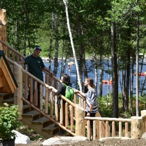 Hike and Paddle (Beginner) Program @ AMC Medawisla Lodge and Cabins | Greenville | Maine | United States