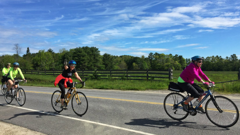 Spring 20 active things to do like mud runs bike rides for Bike rides in maine
