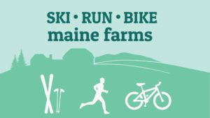 Ski/Run/Bike maine farms
