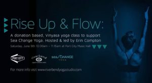 Donation Based Flow Class To Support Sea Change Yoga @ Port City Music Hall | Portland | Maine | United States